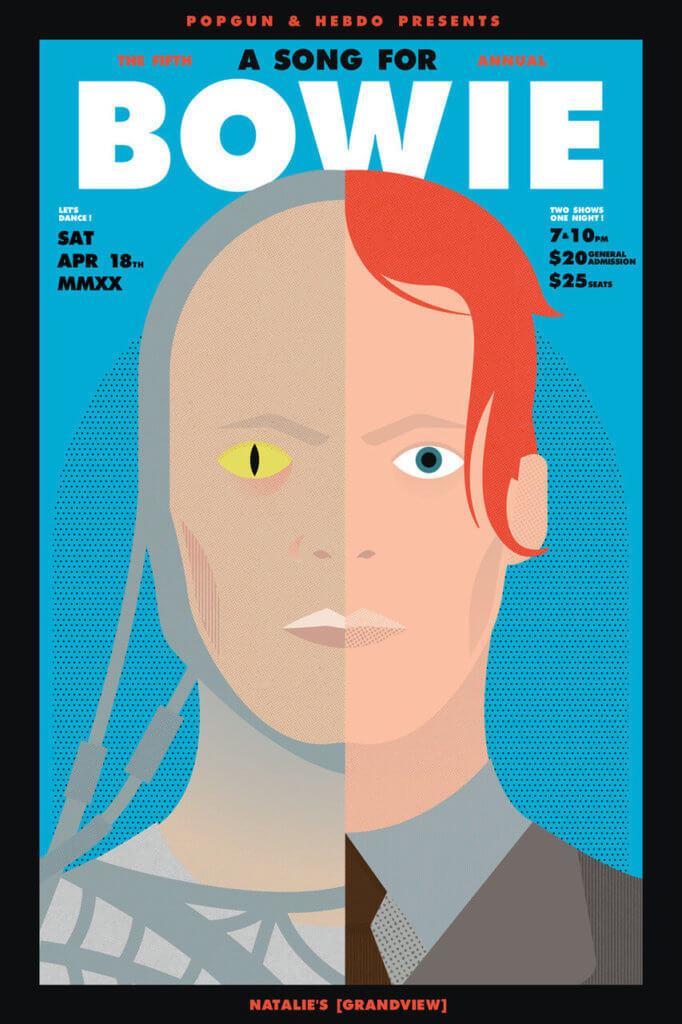Popgun Bowie Tribute