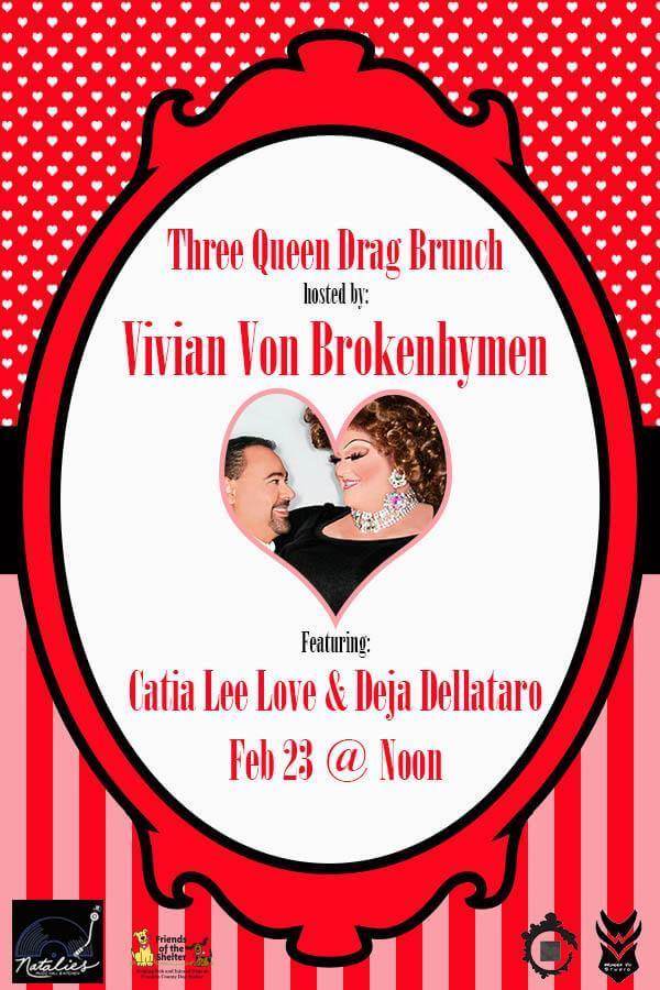Three Queen Drag Brunch Feb 2020